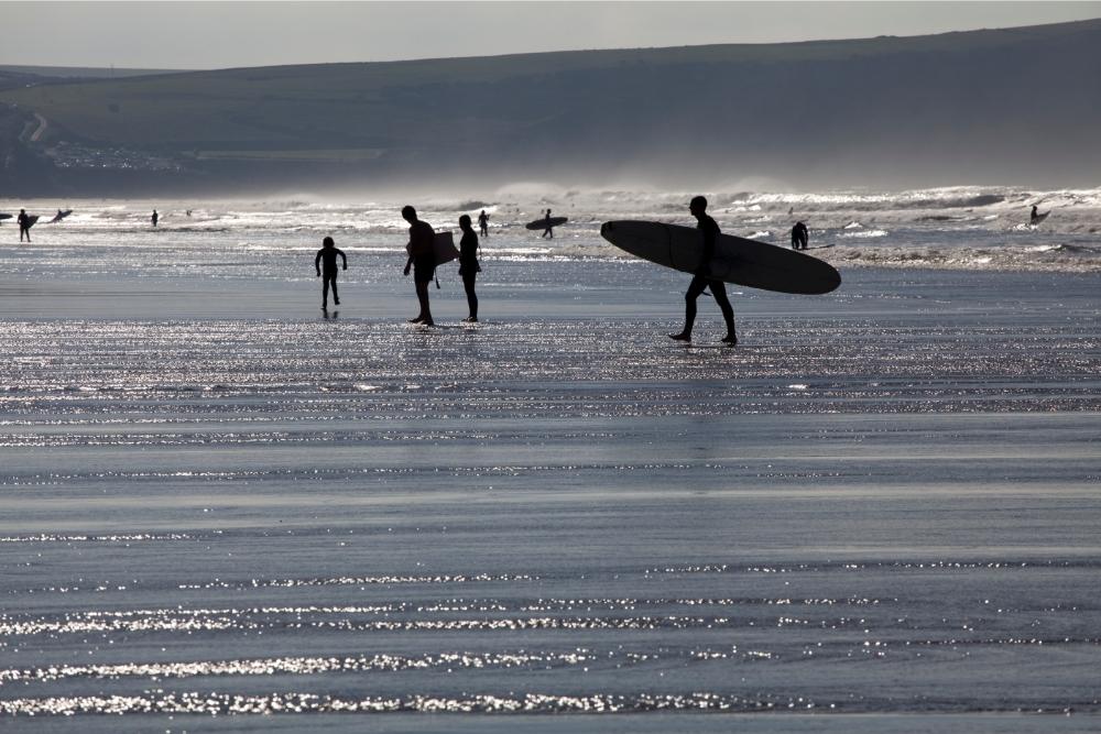 Best surfing beaches in Devon