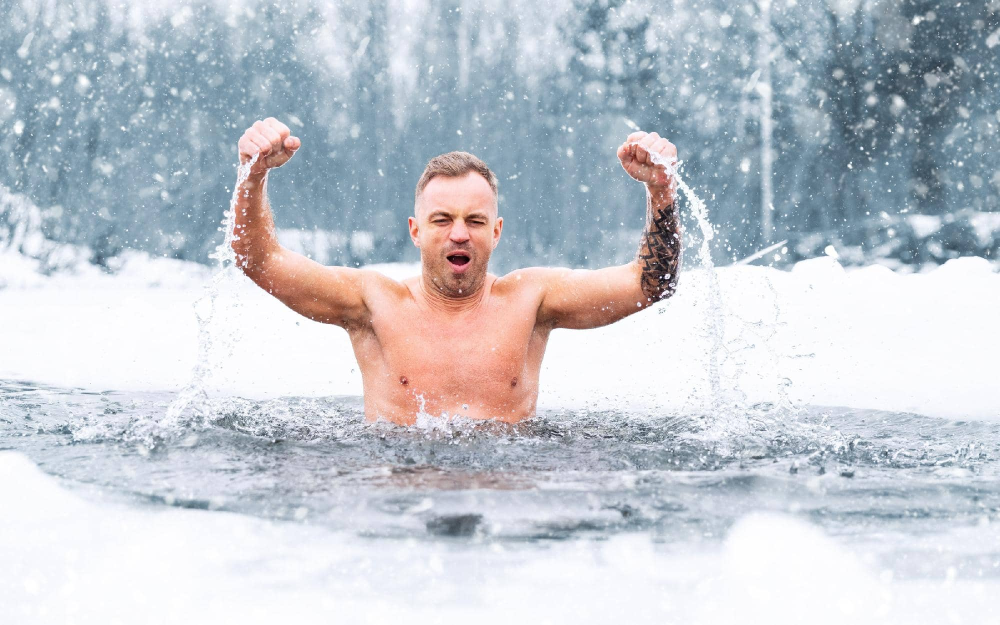 what-is-the-coldest-water-you-can-swim-in